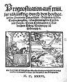 Paracelsus, Prognostication auff xxiiii jar Wellcome L0013935.jpg