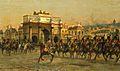 Parade des Chasseurs à Cheval de la Garde impériale au Palais des Tuileries.jpg