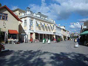 Pargas - The city centre of Pargas