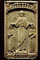 Paris -Musée national du Moyen-âge - Plaque de reliure - Couronnement d'Otton II et de Théophano - 001.jpg