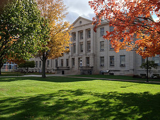University at Buffalo - Parker Hall, home to Millard Fillmore College