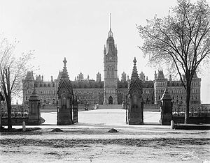 Queen's Gates - The Queen's Gates as they appeared in 1900