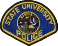 Patch of the California State University Police (1980s).png