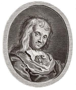 Paul Scarron - Paul Scarron, engraving by Antoine Boizot, 1736