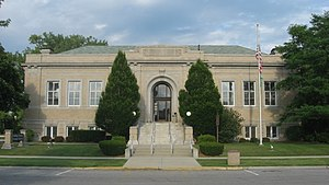 National Register of Historic Places listings in Paulding County, Ohio - Image: Paulding County Carnegie Library