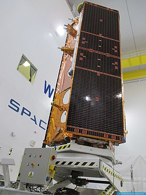 Paz (satellite) Spanish military Earth observation satellite