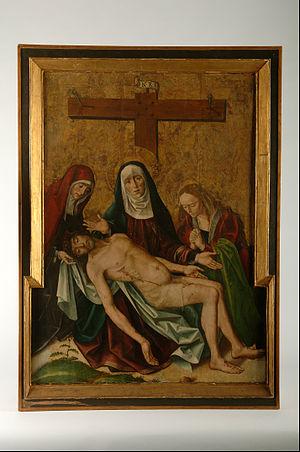 Museo Nacional de Escultura, Valladolid - Image: Pedro Berruguete Pietá Google Art Project