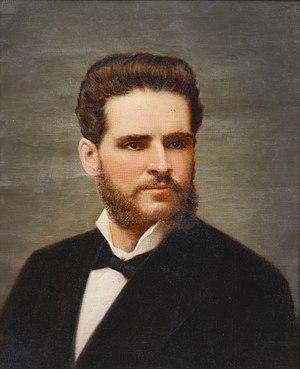 Pedro José Domingo de Guerra - An oil painting of President Guerra, circa 1850