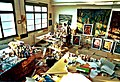 Pedro Meier Atelier Impression »Work in Progress«, 1996, Alte Gerberei Aarburg, Foto © Pedro Meier Multimedia Artist.jpg