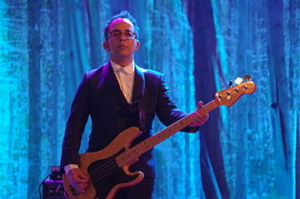 Clã - Pedro Rito, bass player with Clã, 2015-12-31