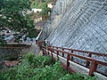 Peechi Dam Steps to Dam Top.JPG