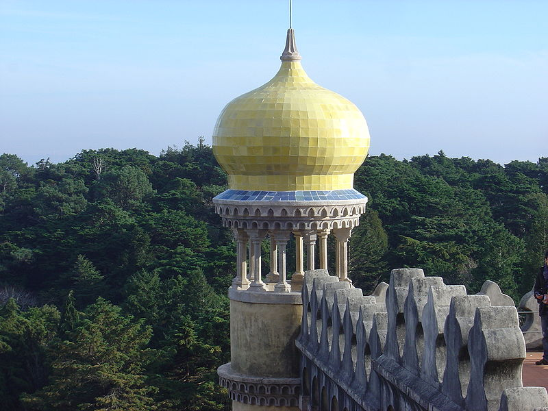 Ficheiro:Pena Palace minaret.JPG