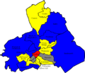 Pendle 2007 election map.png