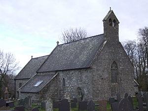 St Gredifael's Church, Penmynydd - Image: Penmynydd Eglwys Credifael