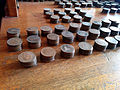 Pennies, Barclays Bank, Town, Beamish Museum, 25 January 2014.jpg