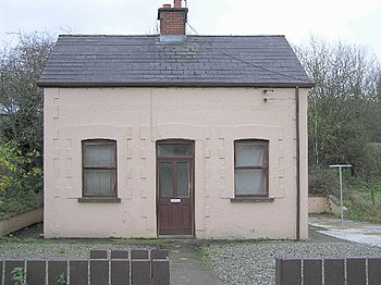 English: Pensioners Cottage, Ballygowan. This ...