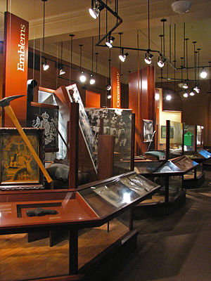 McLean County Museum of History - Encounter on the Prairie Exhibit - People Gallery