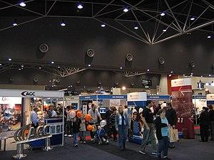 Perth Convention and Exhibition Centre - Pavilion interior