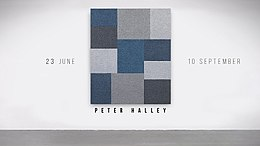 Peter Halley solo show announce.jpg