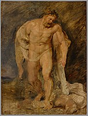 Hercules as victor over Discord