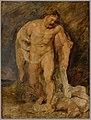 Peter Paul Rubens - Hercules met de neergevelde Discordia (de Tweedracht) - 2297 (OK) - Museum Boijmans Van Beuningen.jpg