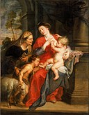 Peter Paul Rubens - The Virgin and Child with Sts. Elizabeth and John the Baptist - Google Art Project.jpg