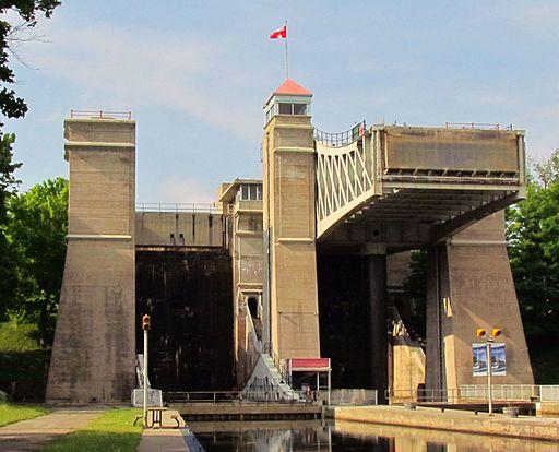 Peterborough Lift Lock, 2012