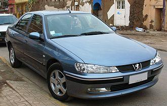 Peugeot 406 - Post facelift Peugeot 406 ST (Chile)