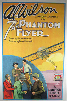 Al Wilson (pilot) poster for The Phantom Flyer