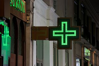 Pharmacy (shop) health facility where medicines are sold and medical advices are given