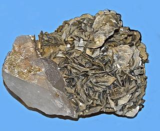 Phengite high silica variety of muscovite