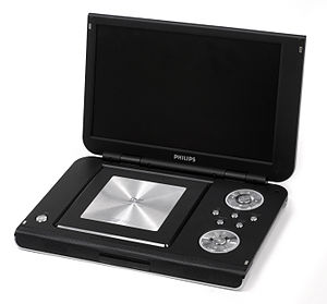 Portable DVD player - A Philips portable DVD player