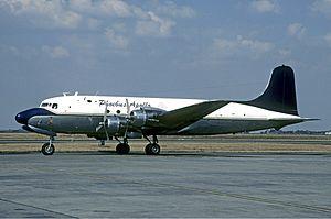 Pennsylvania Central Airlines Flight 410 - A Douglas DC-4 similar to the crash aircraft