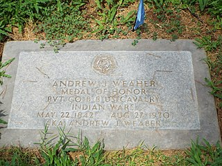 Andrew J. Weaher United States Army Medal of Honor recipient