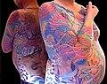 Phoenix full sleeve tattoo by Maaika.jpg