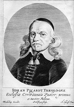 Picardt 1660 portret