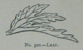 Picture Natural History - No 320 - Leaf.png