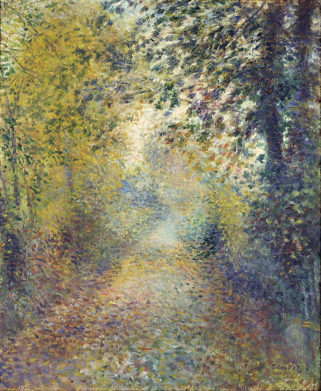 Pierre-Auguste Renoir - In the Woods - Google Art Project