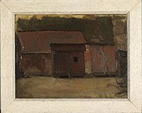 Piet Mondriaan - Barn doors of a Brabant farm building - 0333225 - Kunstmuseum Den Haag.jpg