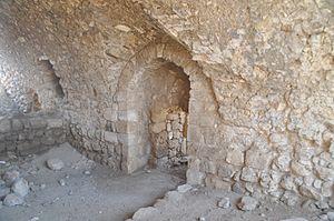 Bayt 'Itab - Crusader ruins at Bayt Itab.