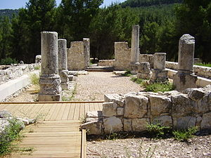 Jewish mysticism - Ancient synagogue in upper Galilee