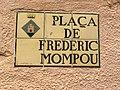 Placa pl. Frederic Mompou (Arbúcies).jpg