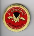 Placca pubblicitaria per forme ditta A. Marconi & C - Musei del cibo - Parmigiano - 315.tif