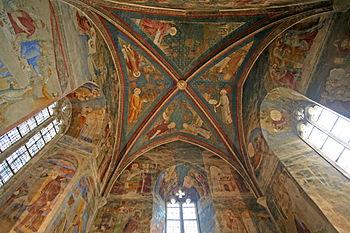 Français : Plafond de la chapelle Saint-Jean (...
