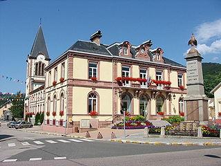 Plainfaing Commune in Grand Est, France