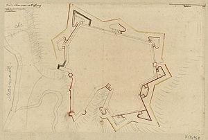Plan de Chaumont, en Bassigny : dessin