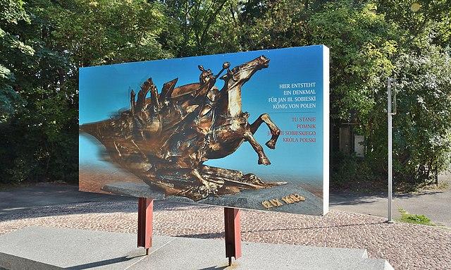 Vandals in Vienna deface new monument to Polish King who broke Turkish siege 640px-Planned_John_III_Sobieski_Monument_in_Vienna%2C_Kahlenberg_01