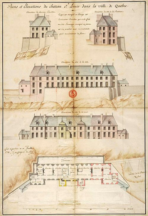 Plans et elevations du chateau Saint-Louis par Chaussegros de Lery.jpg
