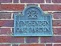 Plaque, Minchenden Oak Garden, London N14 - geograph.org.uk - 1079662.jpg