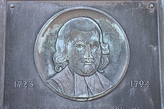 John Witherspoon - Plaque to Rev John Witherspoon, Gifford, East Lothian